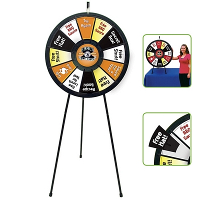 Promotional Spin N Win Prize Wheel Kit