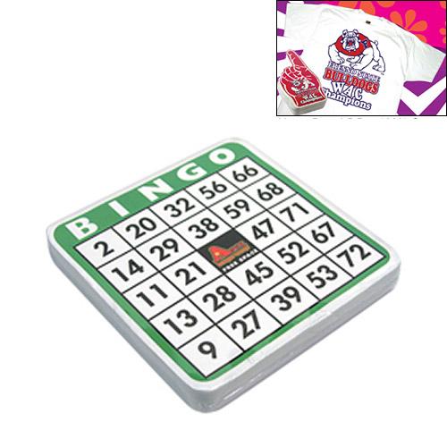 Promotional Compressed T-Shirt: Bingo Card