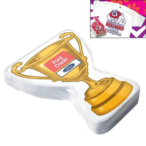 Promotional Compressed T-Shirt: Gold Cup Trophy