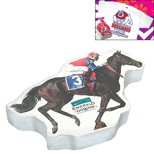 Customized Compressed T-Shirt: Race Horse