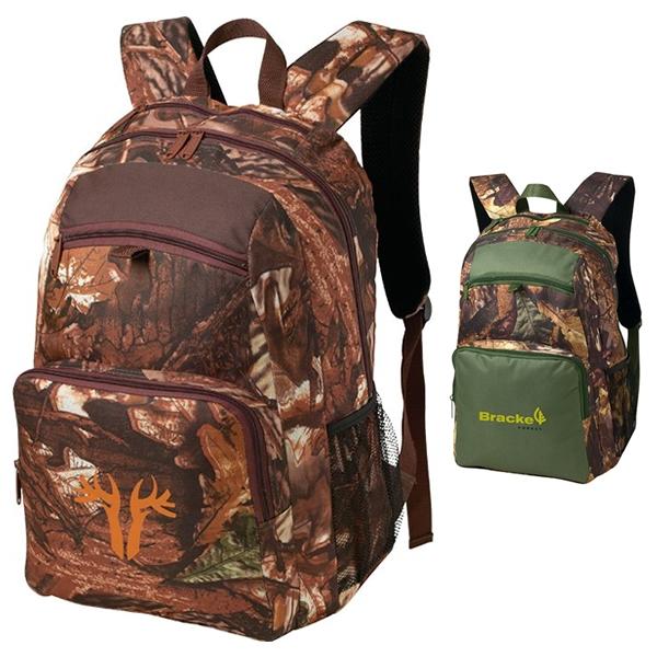 93d68e91fa0e Promotional 600D Polyester Camo Backpack