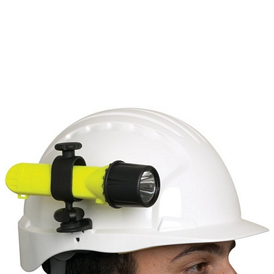 Promotional Hard Hat Flashlight Clip Customized Hard Hat