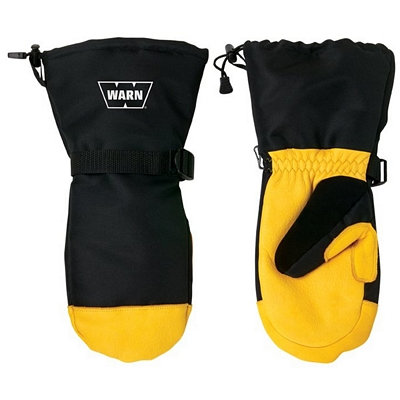 Promotional Deerskin Winter Mitts with Thinsulate