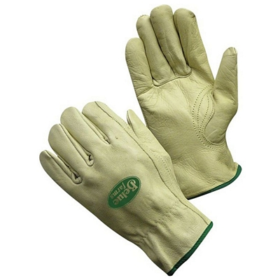 Promotional Grey Cow Grain Deivers Gloves