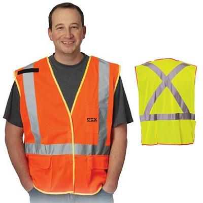 Promotional X-Back Breakaway Mesh Vest