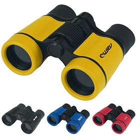 Custom Sports Rubber Binoculars
