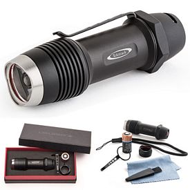 Promotional Led Lenser F1 Military Standard Waterproof Flashlight