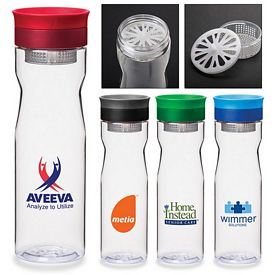 Promotional 25 Oz Infusion Pour-Through Water Bottle