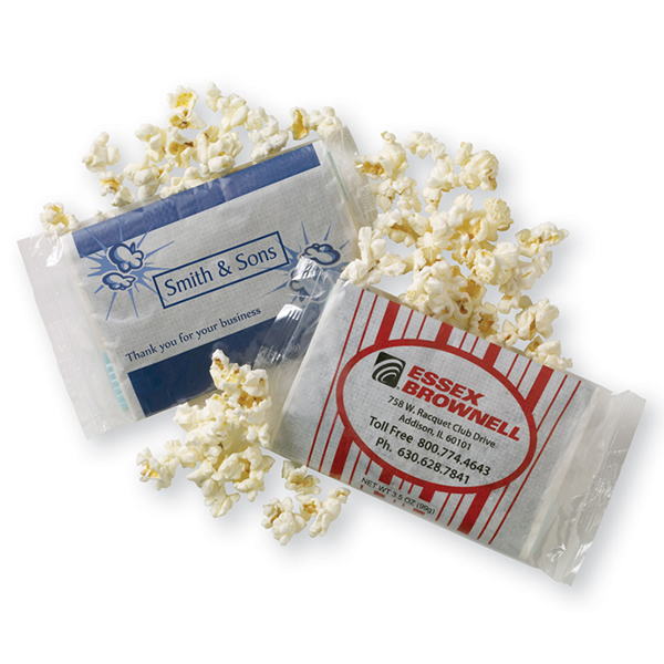 Promotional Personalized Microwave Popcorn Bag