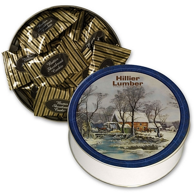 Promotional Collector Tin Filled With Gourmet Cookie Selection