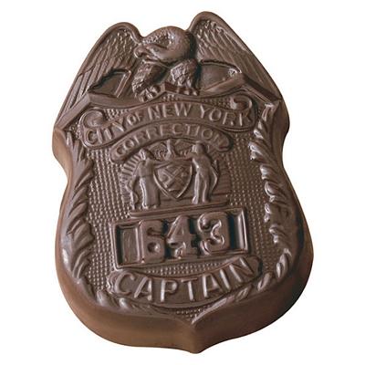 Promotional Badge Shaped Chocolate