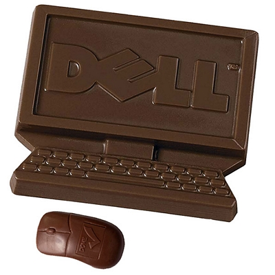 Promotional Chocolate Technology Shapes