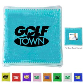 Promotional Square Gelbead Hot Cold Pack