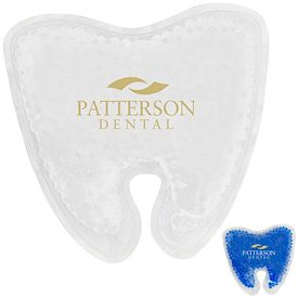 Promotional Tooth Gelbead Hot Cold Pack