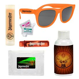 Promotional Sunglasses Energy Drink Hangover Kit