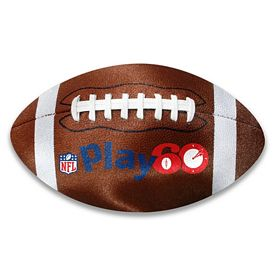 Customized Football Shaped Microfiber Cleaning Cloth