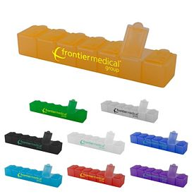 Promotional 7 Day Meds Organizer Pill Box