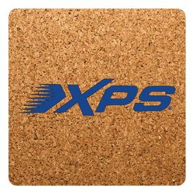 Promotional Square Thick Natural Cork Coasters