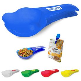 Promotional Dog Food Scoop N Clip