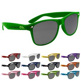 Customized Miami Style Solid Frame Sunglasses