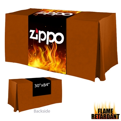 Promotional Digital Printed 30-inch x 84-inch Flame Retardant Table Runner