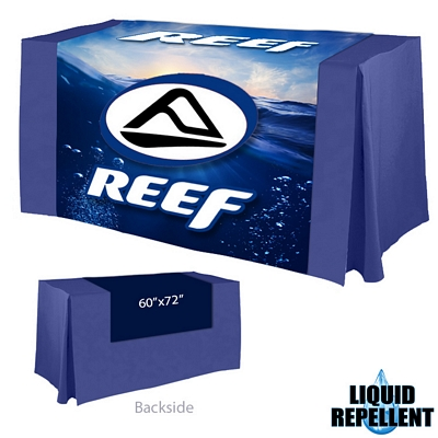 Promotional Digital Printed 60-inch x 72-inch Liquid Repellent Table Runner