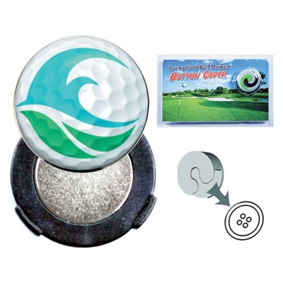 Promotional Zoogee Button Cover Ball Marker