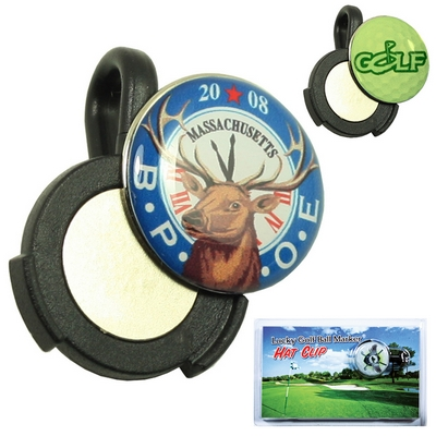 Promotional Zoogee Hat Clip Ball Marker