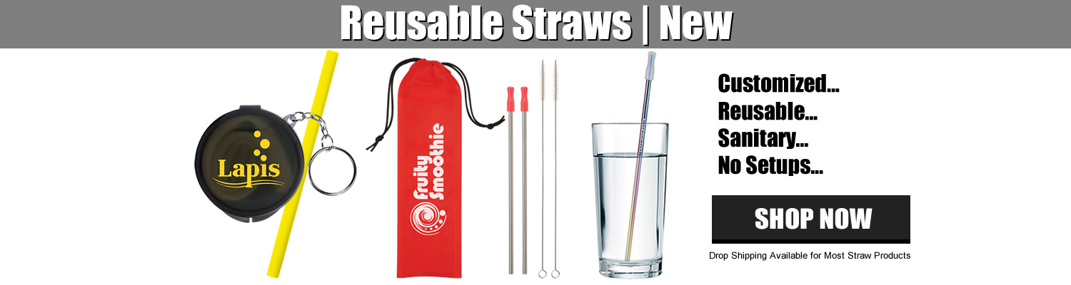 Customized Reusable Straws for Giveaways