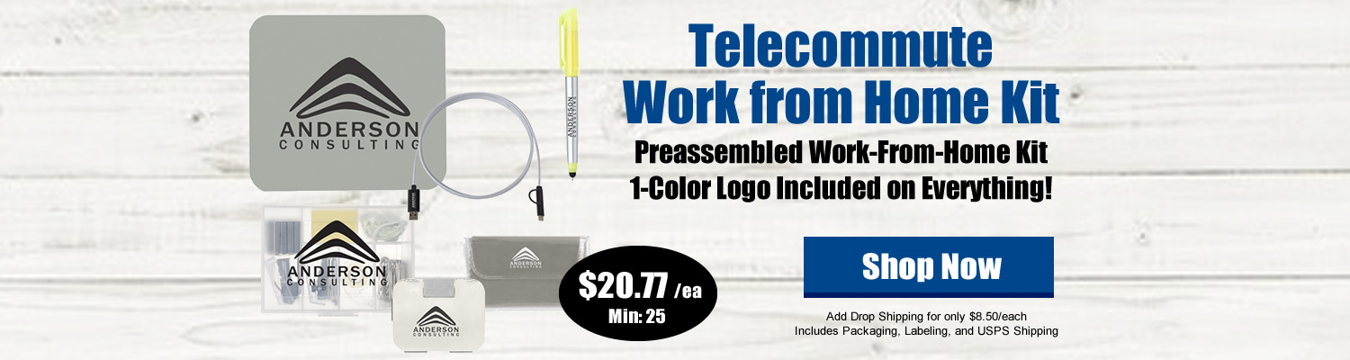 Customized Telecommuter Work from Home Employee Kit