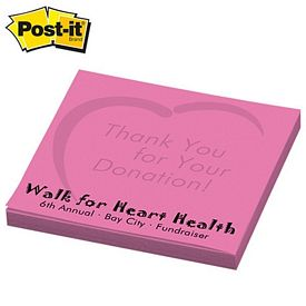 Promotional Post-it Spot Print 3-inch x 3-inch Sticky Note