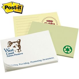Customized Post-it Spot Print 3-inch x 4-inch Sticky Note
