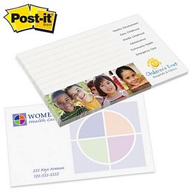 Customized Post-it Spot Print 3-inch x 5-inch Sticky Note