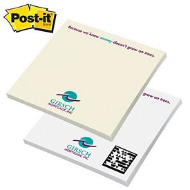 Promotional Post-it Spot Print 4-inch x 4-inch Sticky Note