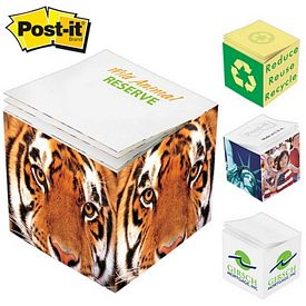 Promotional Post-it 2.75x2.75x2.75 Full Sticky Note Cube