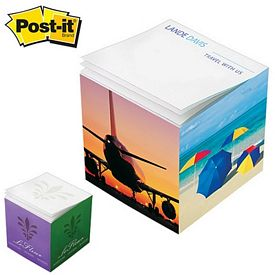 Customized Post-it 3.375x3.375x3.375 Full Sticky Note Cube