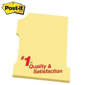 Promotional Post-it Number 1 Shape Medium Sticky Note