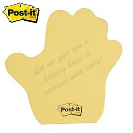 Promotional Post-it Shape Right Hand Shape Large Sticky Note