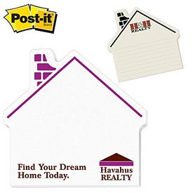 Promotional Post-it Shape House Shape Large Sticky Note