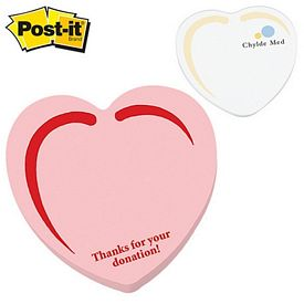Promotional Post-it Shape Heart Shape Large Sticky Note