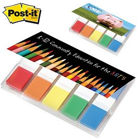 Promotional Post-it Mini 100 Sticky Flag Oragizer Pack