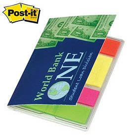 Promotional Post-it Mini 80 Sticky Flag Highlight Oragizer Pack