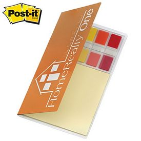 Customized Post-it Personal 100 Sticky Flag Oragizer Pack