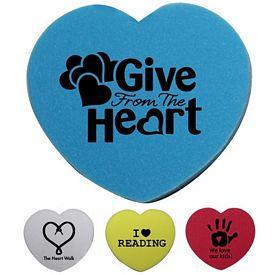 Promotional Heart Pencil Eraser