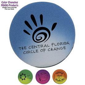 Promotional Circle Mood Pencil Eraser