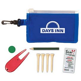 Promotional Golf Tournament Travel Kit