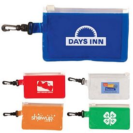 Promotional Clip-N-Go Coin Pouch