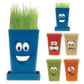 Promotional Facial Expression Flower Planter