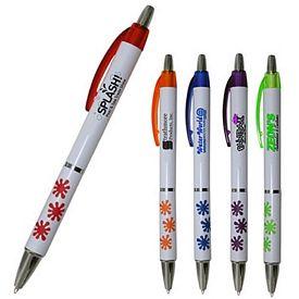 Promotional Splash Grip Click Pen