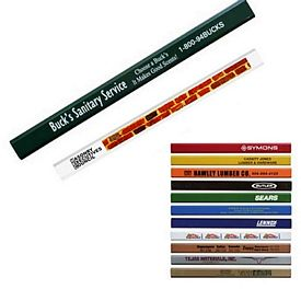 Promotional Enamel Finish Carpenter Pencil